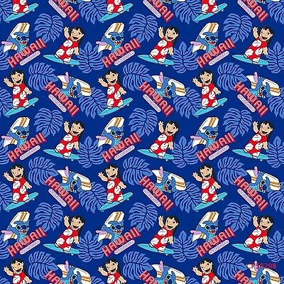 Beyond Cool Just Stitch Lilo and Stitch Fabric The Fabric Edge By The Yard