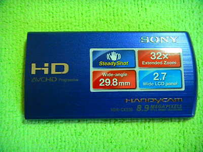 Genuine Sony Hdr-Cx220 Lcd Case Cover Parts For Repair