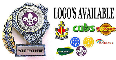 Beavers Cubs Scouts Boys Brigade Rainbows Brownies Girl Guides Trophy Free P&p