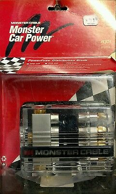 Monster Cable PFD 34A Distribution Block PFD34A BRAND NEW!