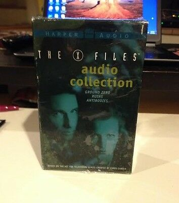 New THE X-FILES AUDIO COLLECTION read by Gillian Anderson Mitch Pileggi Cassette