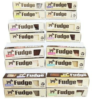 Spotted Dog Fudge. 27 Flavours - Silky & Smooth Home Style Fudge. 95G