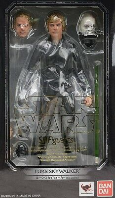 New Bandai SH Figuarts Star Wars Luke Skywalker Episode VI Painted
