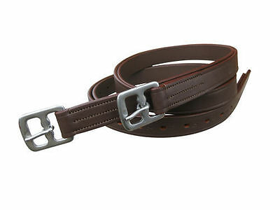 Top Quality Horse Stirrup Leather In Brown Color In Full,cob,pony