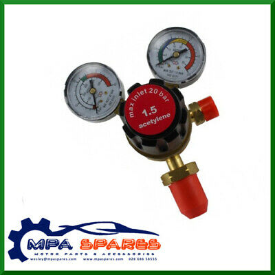 Single Stage 2 Gauge Welding Acetylene Regulator