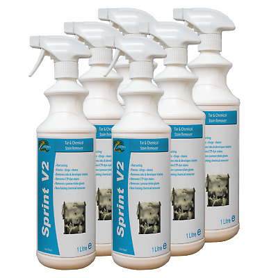 Processor Cleaner Removes Tar Stain Dyes Developer Residues HYDRA SPRINT V2 6X1L