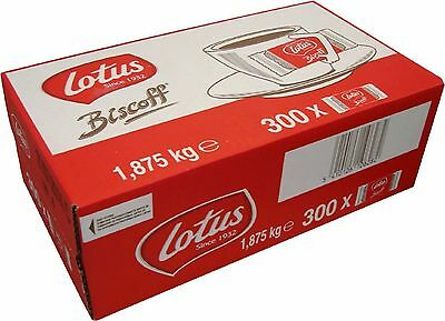 5 Boxes x 300 Lotus Caramelised Biscoff Cafe Biscuits - £10.19 a Case Delivered