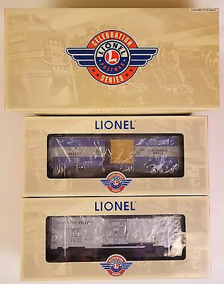 "Lionel #6-27710 ""celebration Series"" 6464 Mopac & Rock Island Box Car Set-Mib!"