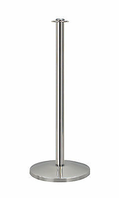QueueWay Crowd Control Stanchion Barrier QWAY314-3P Polished Stainless
