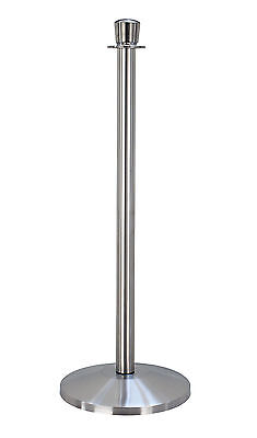 QueueWay Classic Crowd Control Stanchion Barrier QWAY310-3S Satin Stainless