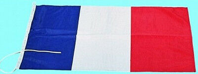 Pavillon National Français Plastimo - Nylon - 40cm x 50cm  - French Flag