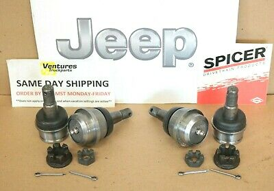 Ball Joint Kit Jeep Wrangler Cherokee Comanche Dana 30 Or 44 Both Sides