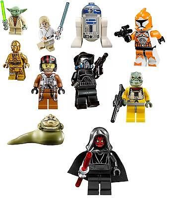 10 LEGO star wars set2 VINYL WALL STICKERS 4 SIZES A6 A5 A4 A3