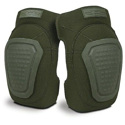 Authentic Damascus Worldwide Inc. Imperial Neoprene Knee Pads Olive Drab DNKPOD