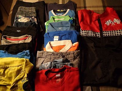 Lot of 19 pieces, boys kids size 10 clothing outfits