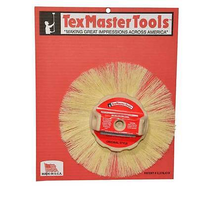 """Texmaster 10"""" Tampico Round Stipple Brush for Drywall Texture 8829 *NEW*"""