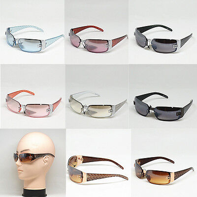 New Women DG Sunglasses Eyewear Rectangular Rimless Wrap Shades Fashion 5024