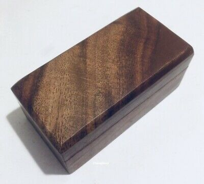Plain Sheesham Wooden Storage Pet Ashes Keepsake Memory Jewellery Box Case Gift