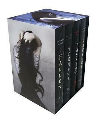 NEW The Fallen Series Boxed Set By Lauren Kate Hardcover Free Shipping