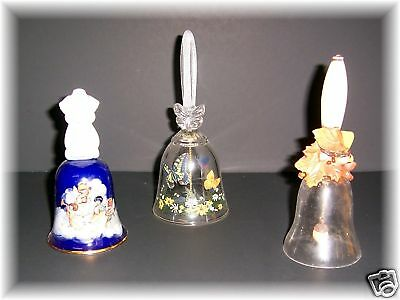 Vintage Avon Bells from Years 1988  1990  1992