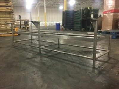 """Food Truck Or Trailer Commercial 106"""" Stainless Equipment Stand - Best Offer!!!!"""