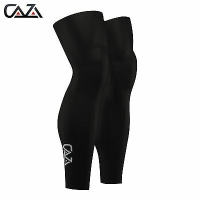 Mens Leg Warmer  Compression base layer Running Warmers