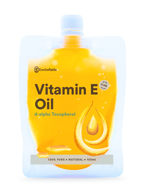 Vitamin E Oil Natural (Not Synthetic)-100Ml-Anti Aging Skincare**Free Shipping**