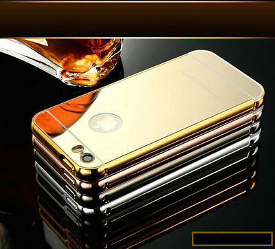 Luxury Aluminum Ultra-thin Mirror Metal Case Cover Apple iPhone 6s personalised
