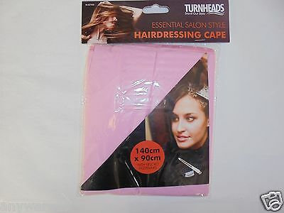 Hairdressing Cape, Salon Style, Turnheads Essential Gown, Work or Home, Velcro
