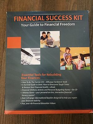 Financial Success Kit Guide To Financial Freedom With Kim Snider New Sealed 2010