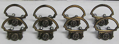 8 Vintage NOS AJAX French Provincial Knobs Drawer Pulls Handles Cabinet Cupboard