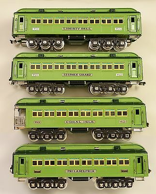 Mth/lionel Exceptional Repros Of The Classic Stephen Girard Pass Cars-Mib!