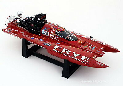 Bad Ass 1/18 Jay Harountunian's Whiskey River II Top Fuel Hydro Boat Diecast