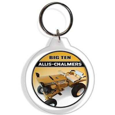 ALLIS CHALMERS TRACTOR ENGINE KEY FOB RING KEYCHAIN IGNITION STARTER