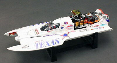 "Bad Ass 1/18 Top Fuel Drag Boat ""Spirit of Texas"" Diecast"