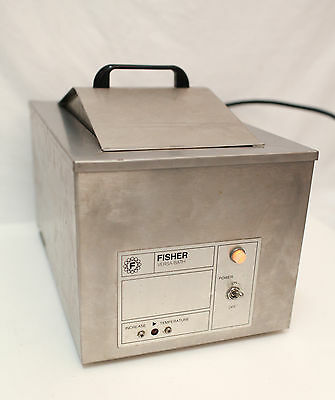 Stainless Steel Heated Lab Water Bath + Lid  Fisher Scientific Versa Bath 130