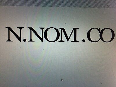 Com Domain Name 1 One Single Character Letter