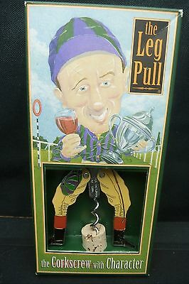 Naughty Boy Jockey Corkscrew......from England..new In Box..vintage