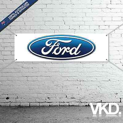 Ford Banner - Man Cave Work Shop Garage Shed Taxi Falcon XR8 XR6 Ute Fairmont