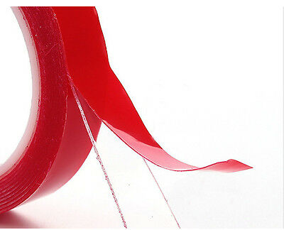 3mx8mm Double Side Acrylic Foam Adhesive Tape used for car bumper sticker