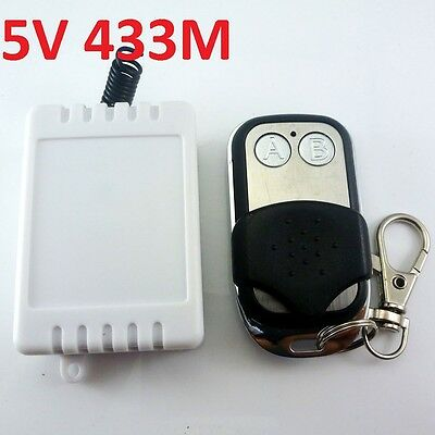DC 5v Relay Wireless Remote Control RF Switch On/off Switch + Delay Time Timer
