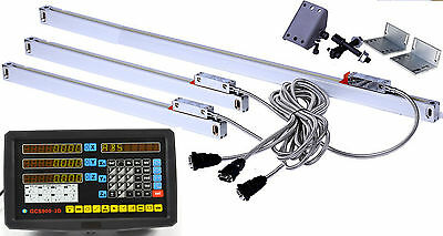 CNC 3 Axis DRO Kit-- Digital Readout & Linear Glass Scale for Milling Bridgeport
