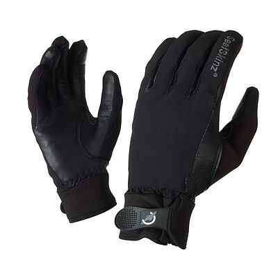 SEALSKINZ Unisex Sealskinz Ladies All Weather Riding Glove Black NEU