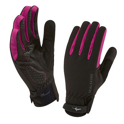 SEALSKINZ Unisex Sealskinz All Weather Women Cycle Handschuhe Pink NEU