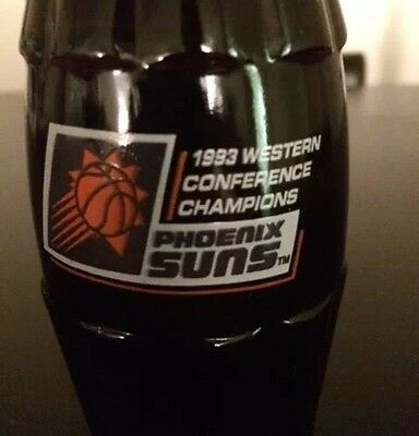 Phoenix Suns 1993 Western Conference Champions Alvin Adams Coke Bottle