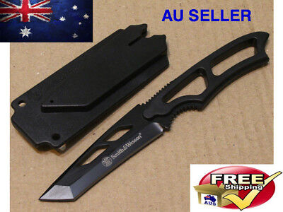 Tactical Tanto Neck Knife Survival Hunting Prepper New Australia Camping Outdoor