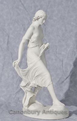 Classical Italian Stone Stepping Stone Maiden Statue Art