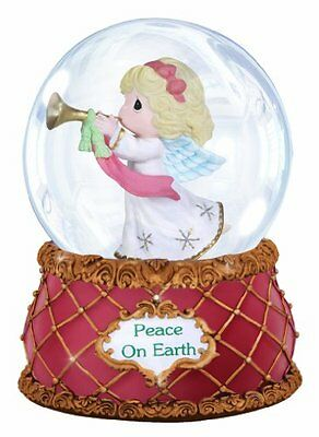 Precious Moments Angel with Trumpet Waterball, New, Free Shipping