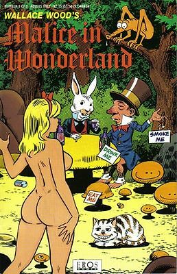 Curiosa bd érotique pastiche Malice in wonderland Wallace Wood  erotic comics