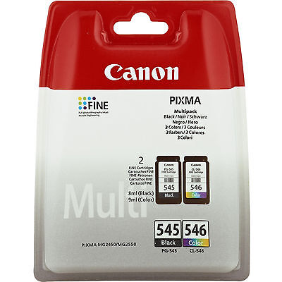 Canon PG-545/CL-546 Multi pack w/o Cartouche d'encre PIXMA MG2550 (8287B005)